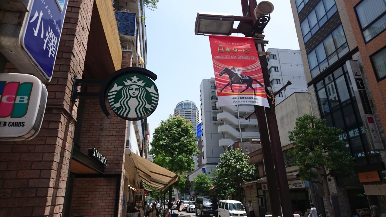 Azabu-juban Shopping Street
